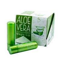 Бальзам для губ с алое Aloe Vera Soothing&Moistuie Magic Lip