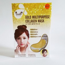 Патчи под глаза Belov с коллагеном Moods Gold Multipurpose Collagen Mask