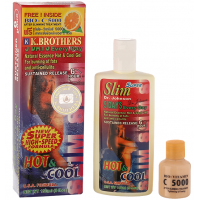 Гель от целлюлита K.Brothers Slim 5 Days Hot&Cool Natural Essence