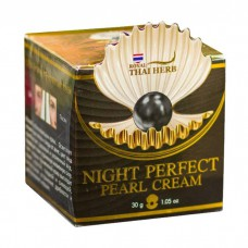 Ночной крем Royal Thai Herb с жемчугом Night Perfect Pearl Cream