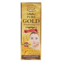 Золотой коллаген Pure Gold Brightening Gel Darawadee