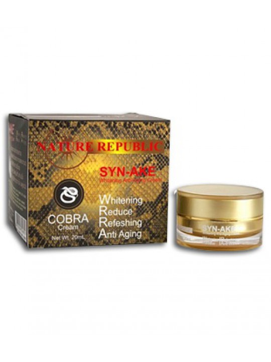 Крем для лица с ядом кобры Syn-Ake Cream Anti-Aging Nature Republic